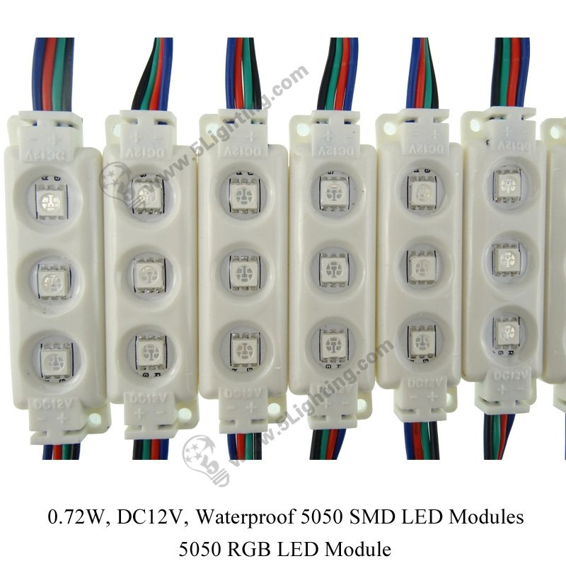 5050 Rgb Led Module Waterproof 5050 Smd Rgb Led Modules