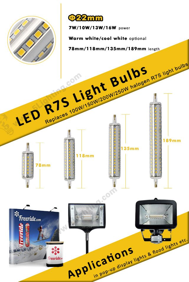 LED R7S Light Bulbs Series