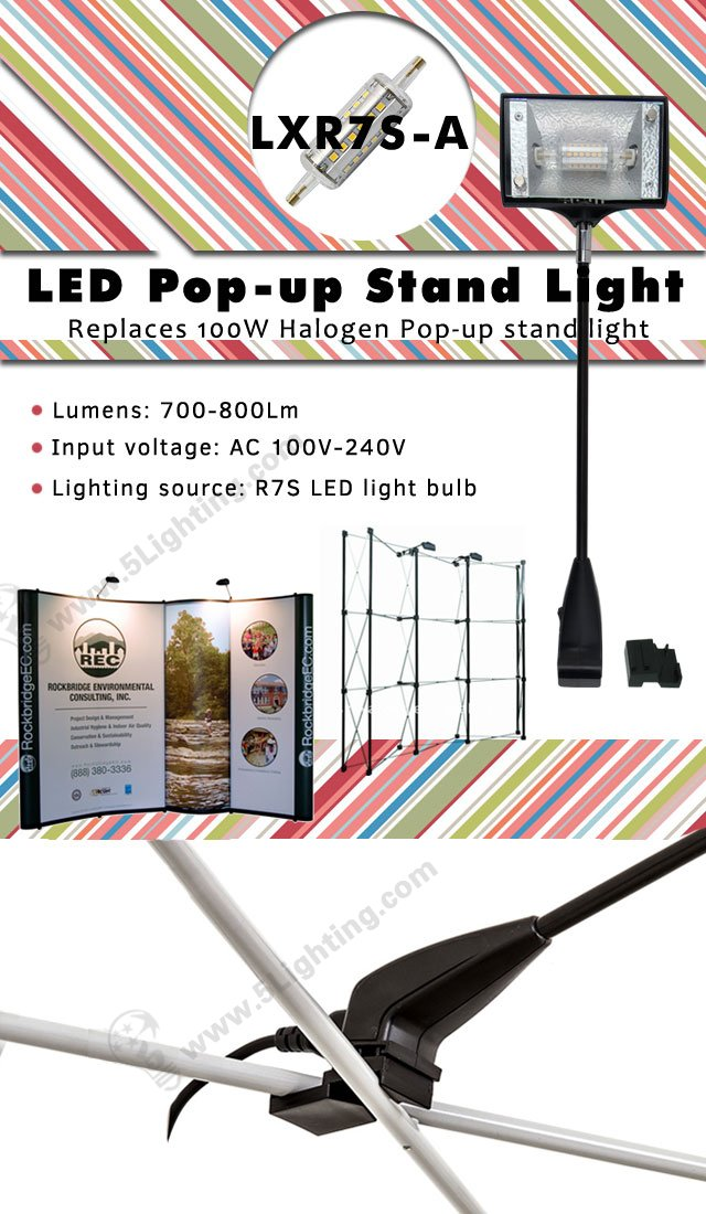 Pop-up LED Display Lighting LXR7S-A
