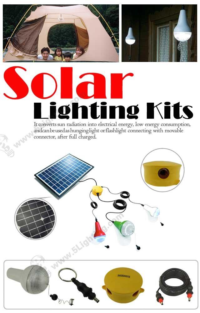 Solar Light Bulbs - 5L-LY-KZ-SM01
