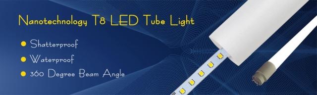 360 Degree T8 LED Tube Light - Banner