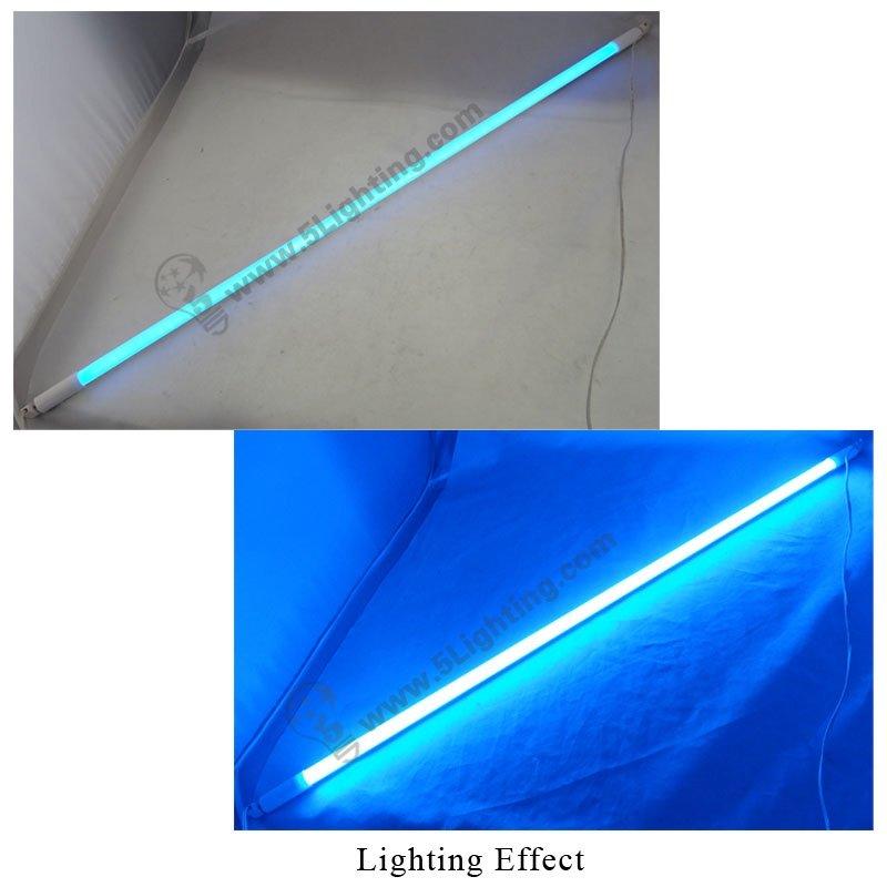 Blue Led Tube Lights T5 Blue Color Led Tube Light T5 Rgb
