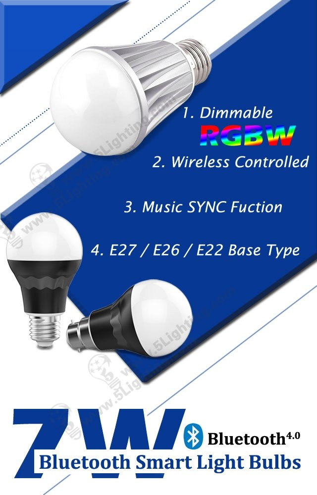 Bluetooth Smart Light Bulbs