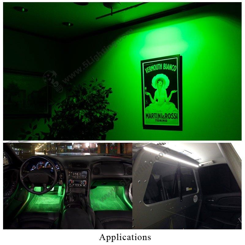 Frosted Light Bulbs >> Green led tube lights t5, green color LED tube light t5 rgb.