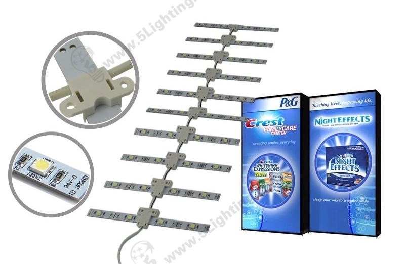 LED Lattice Backlight SMD 5050 Single side 250mm - 1