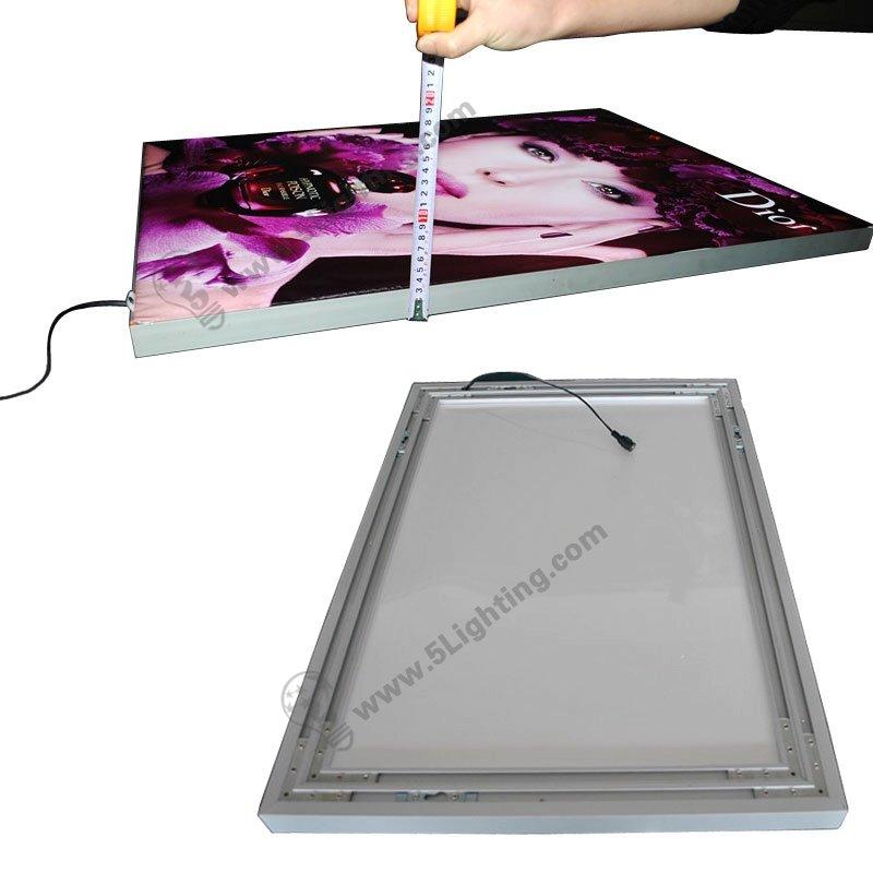 Fabric Light Box Display Single Sided 28mm Super Slim
