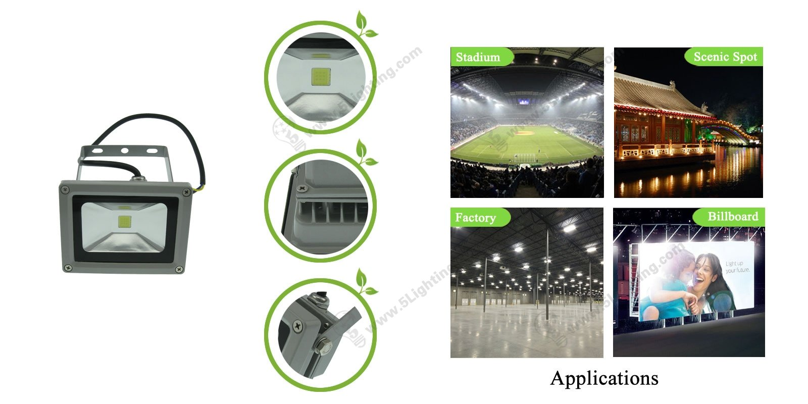 UL LED Flood Lights