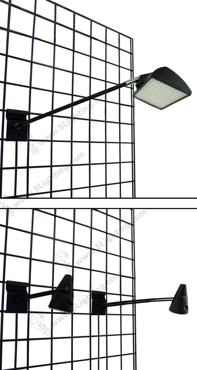 Gridwall Display Lighting for Trade Show / Exhibition Gridwall stand lighting fixtures
