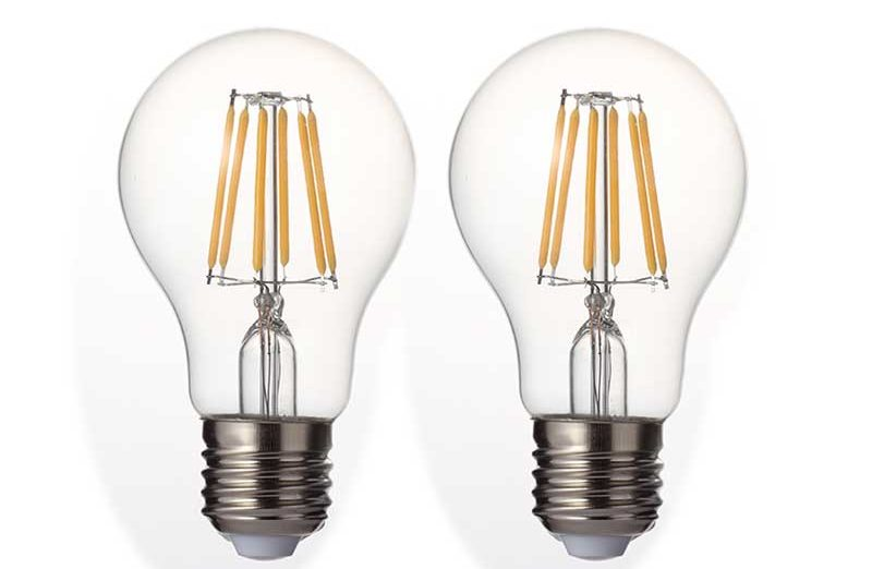 Dimmable Filament LED Globe Bulbs 6w - 1