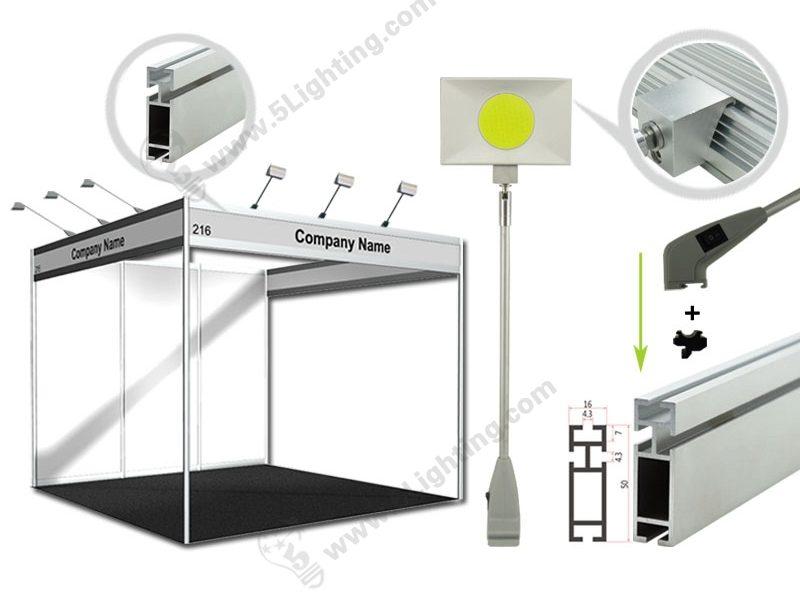 octanorm display lights application