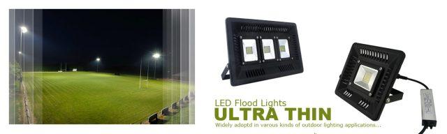 ultra thin led flood light outdoor lighting waterproof
