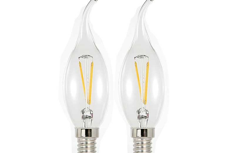 Dimmable Filament LED Candle 2w ca10 - 1