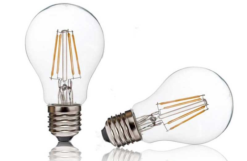 Dimmable Filament LED Globe Bulbs 4w - 1