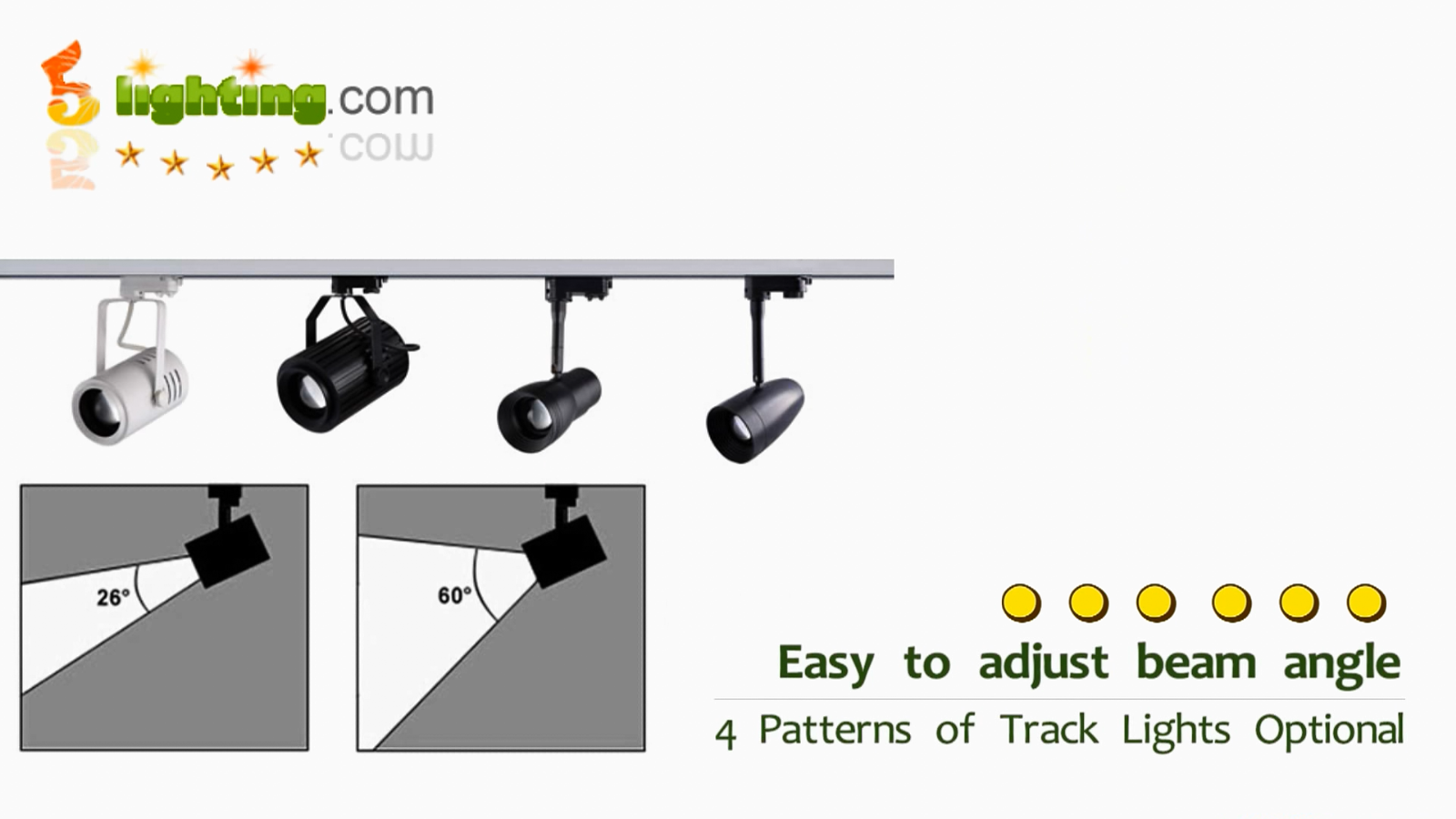 Adjustable beam track light, adjustable led track lighting ...