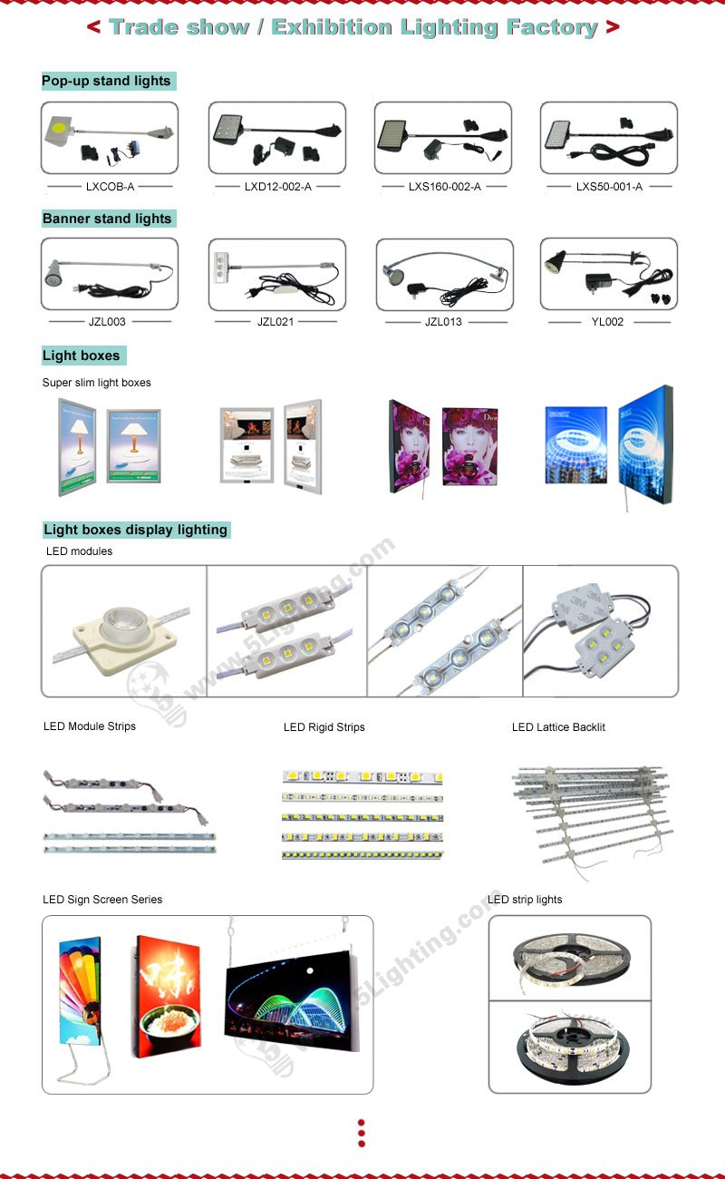 exhibition & trade show display lights