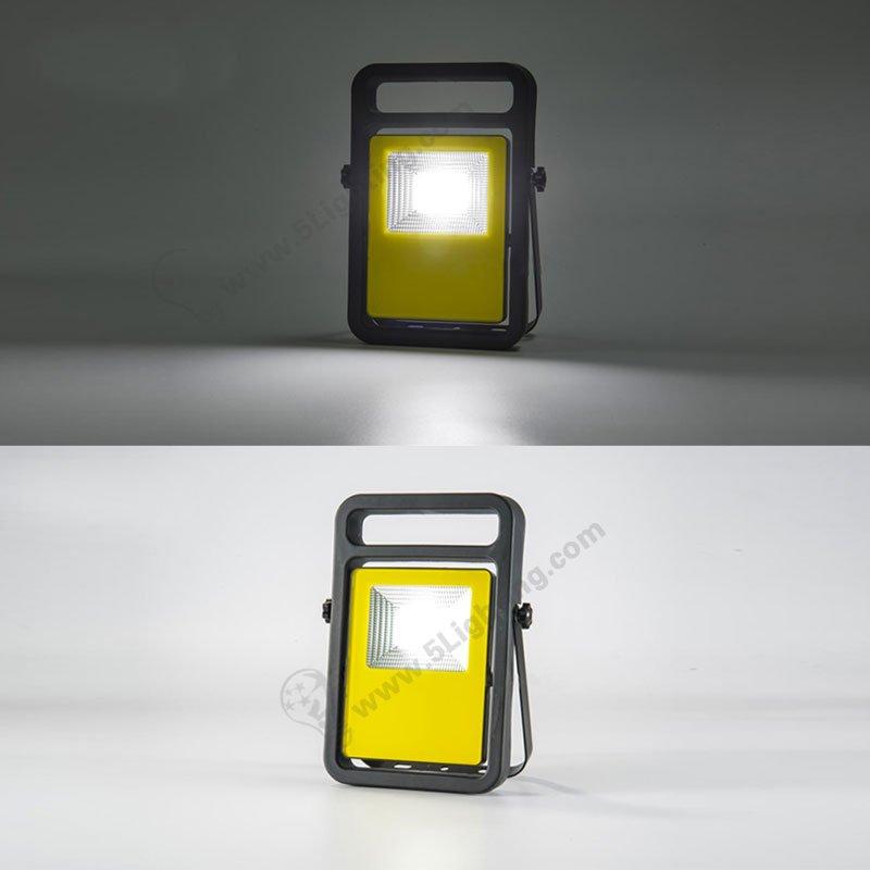 Rechargeable Led Flood Lights 10w Portable Work Light Led