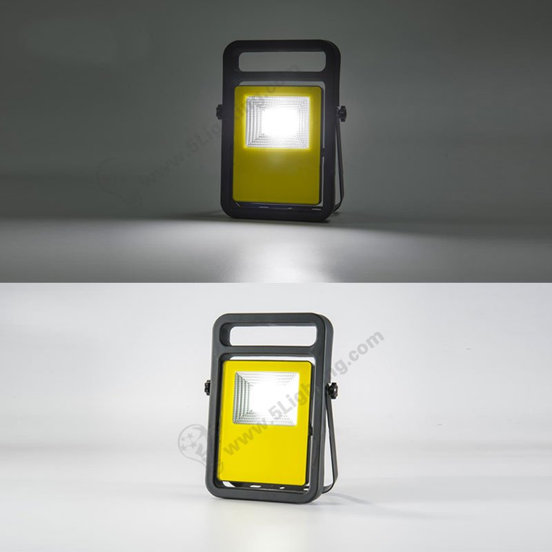 Led Flood Light Rechargeable 20w: Rechargeable Led Flood Lights 20W, Portable Work Light LED