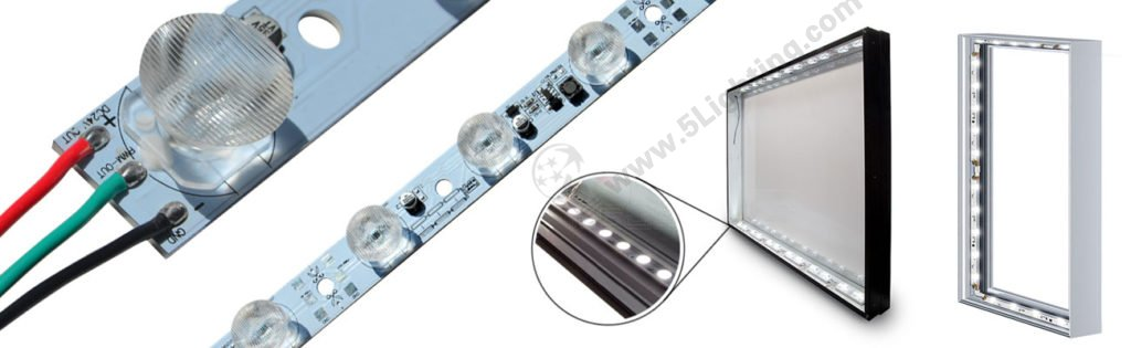 Edge Lit LED Modules