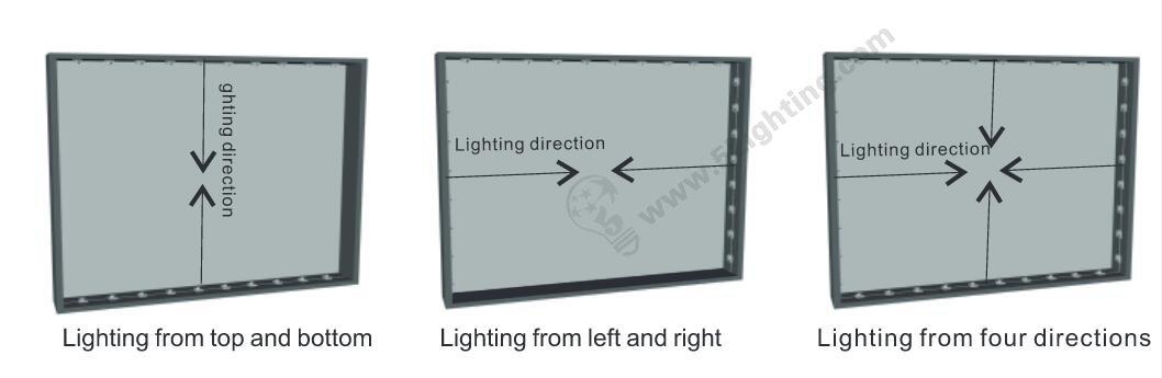 Trade Show Light Bar Array