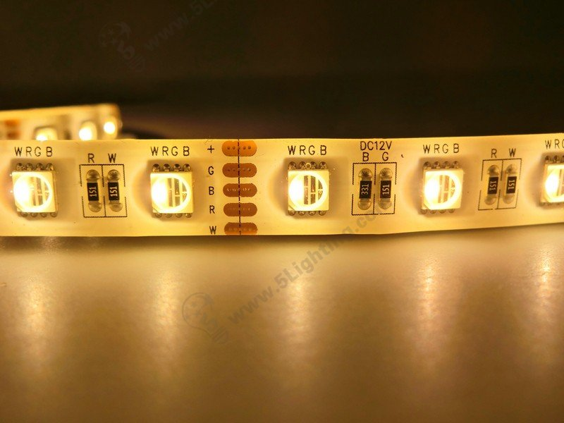 RGBW Strip Lights Warm Color or Cool Color