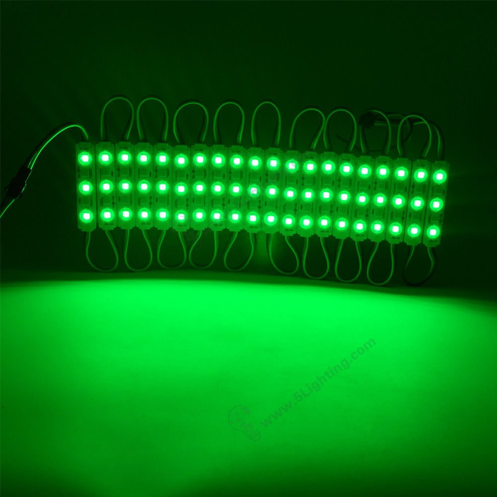 RGB SMD 5050 Led Modules Good Performance gree colour