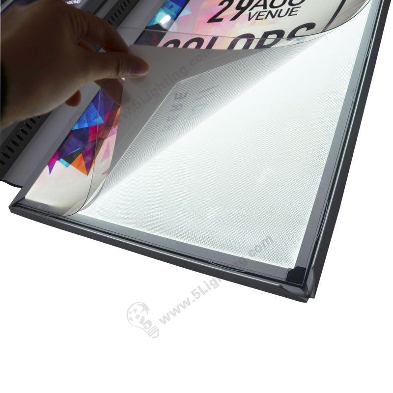 Super Slim Light Box 15mm Aluminous Frame Ultra Thin Led
