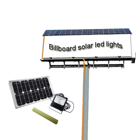 outdoor billboard solar lights 20 W, outdoor billboard solar lighting kits 20 W, billboard solar led lights outside 20 Watts