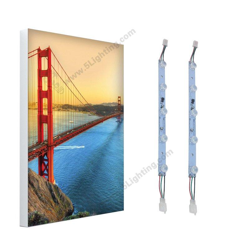 SEG frame display lights