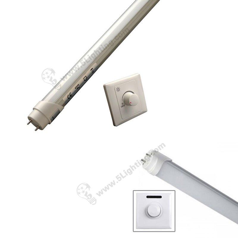 T8 dimmable tube lights PWM , 0 - 10 V , DALI , Traic