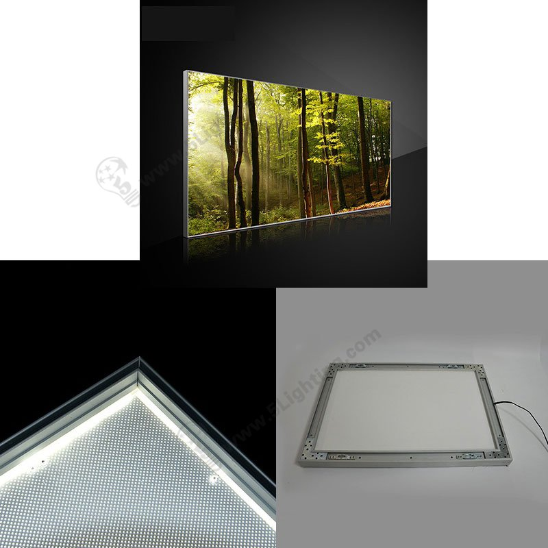 fabric frameless led light box