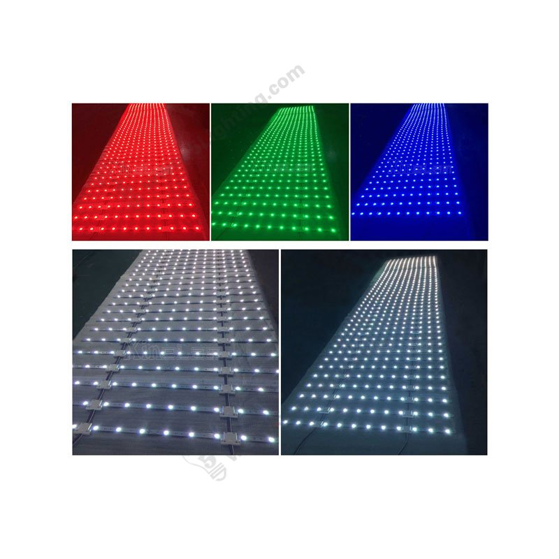 led lattice back-lit strip lights