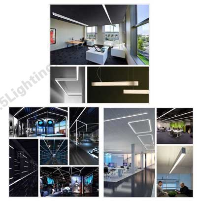 led linear lighting fixture application