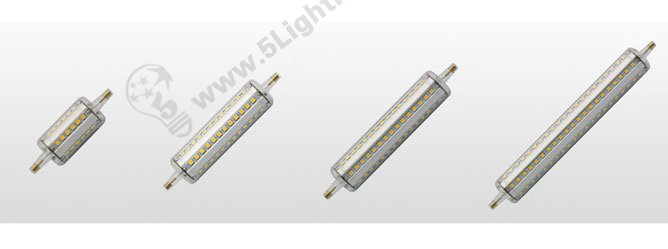 led r7s bulbs 360 degree series