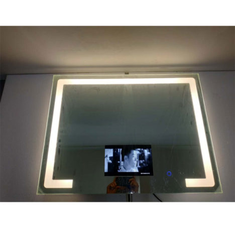 light box mirror display