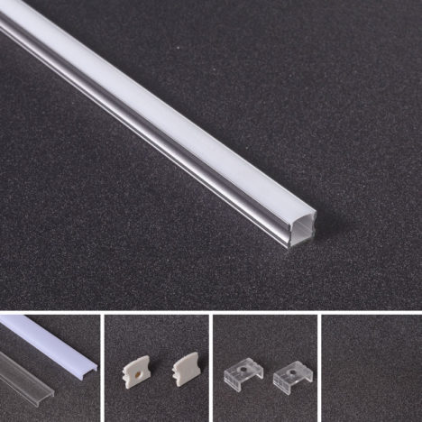 recessed linear lighting profile