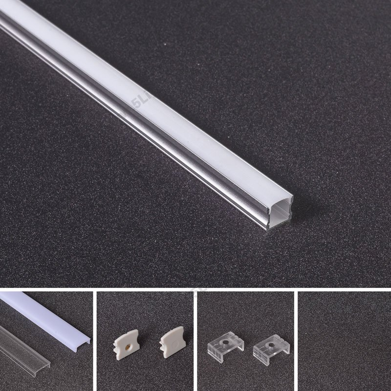 Aluminum Extrusion Channels Profiles For Recessed