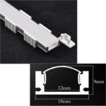 Surface mounted linear lighting extrusion