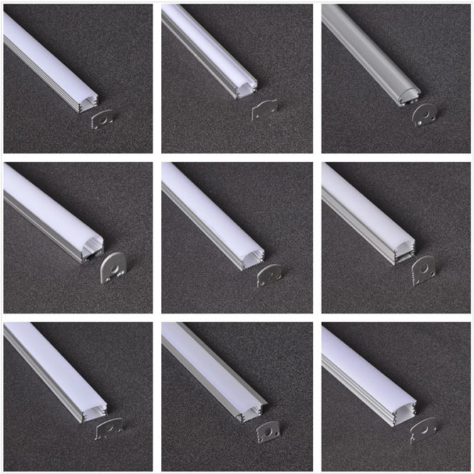 surfaced mounted aluminum profile / extrusion / channel for led lights