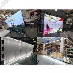 edge lighting for lightboxes and billboards