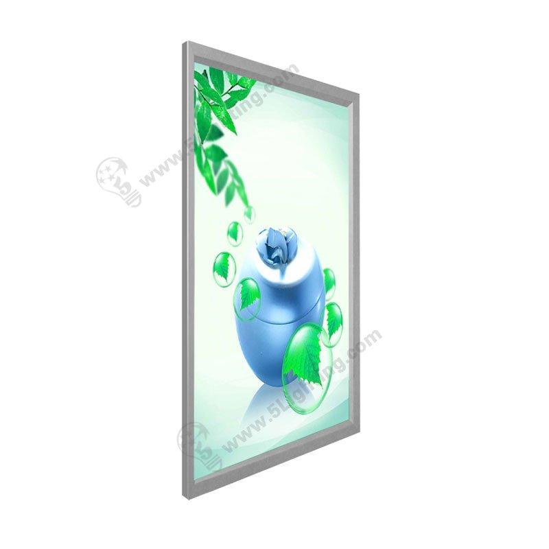 slim led snap frame light box