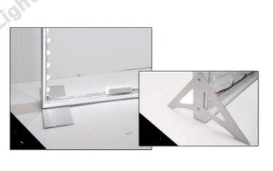 SEG lightbox stand brackets / feet