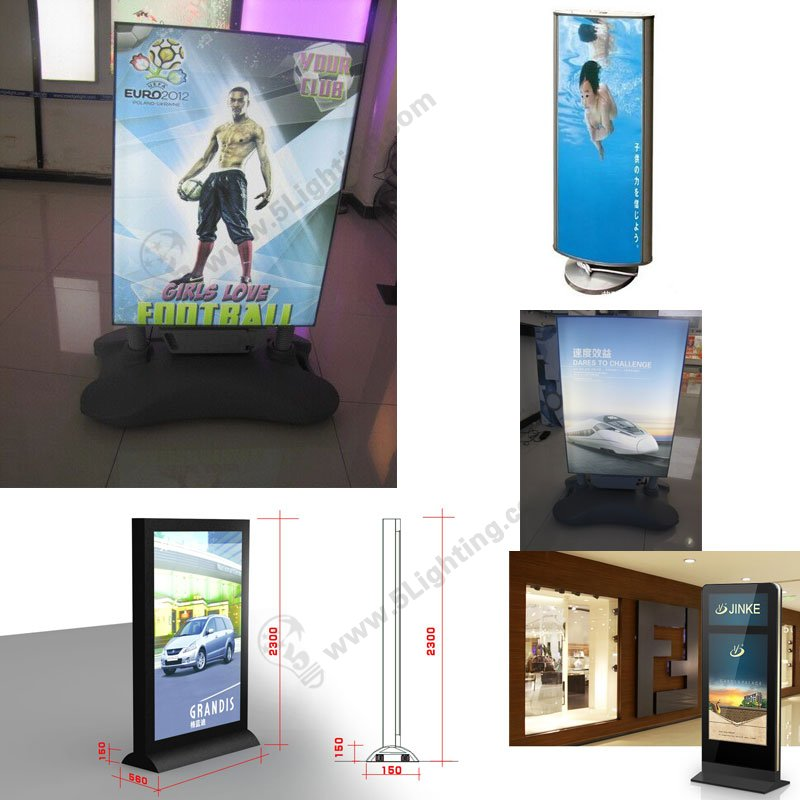 light boxes with stands