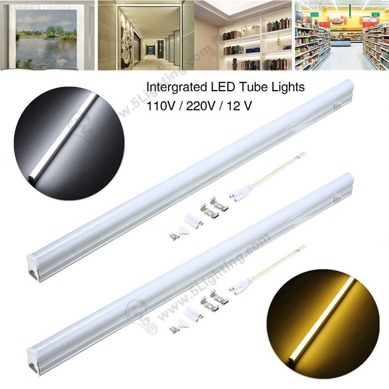 Integrated led bulb lights