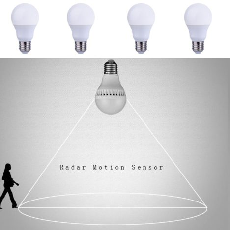 radar sensor bulbs