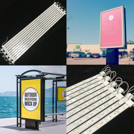 backlighting for advertisement boards